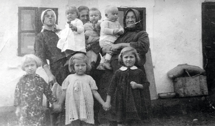Szabó Gyuri bácsi családja