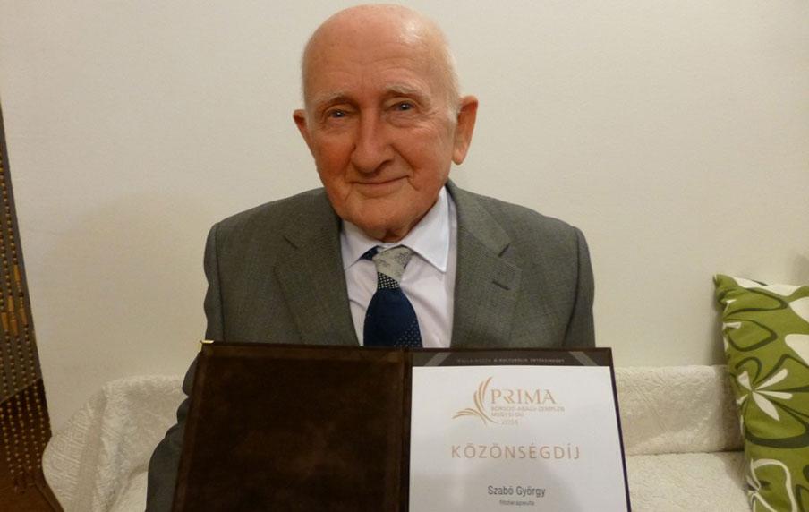 Gyuri bácsi a Príma Díj közönségdíjával