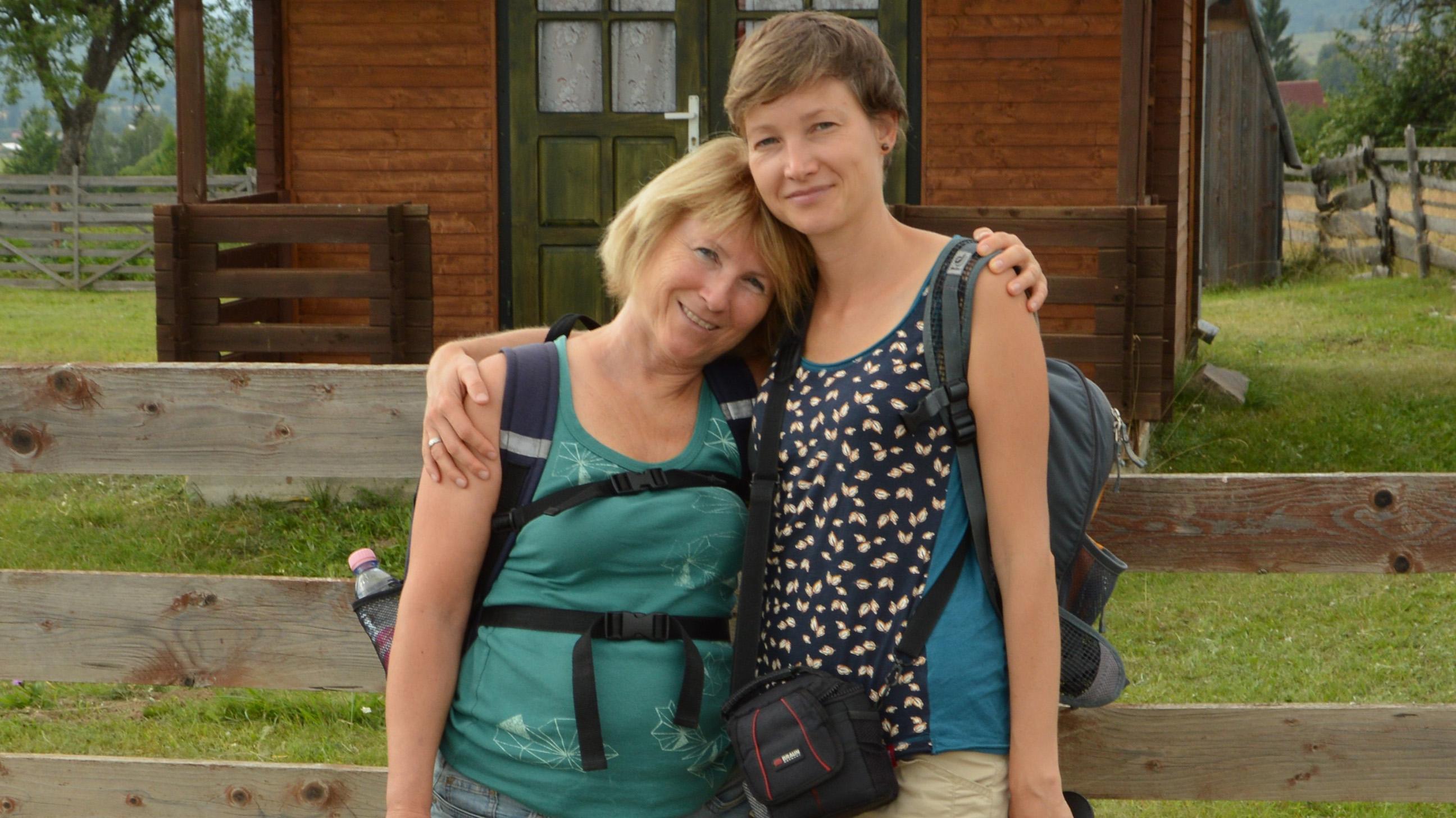 Bálint Anna és édesanyja