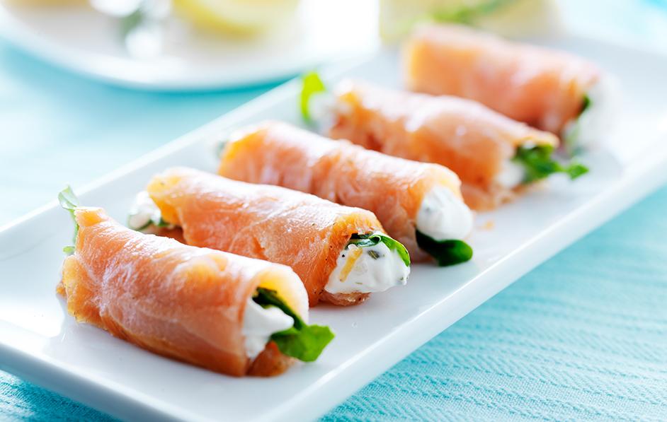 Könnyű halsaláták a Receptsaroktól