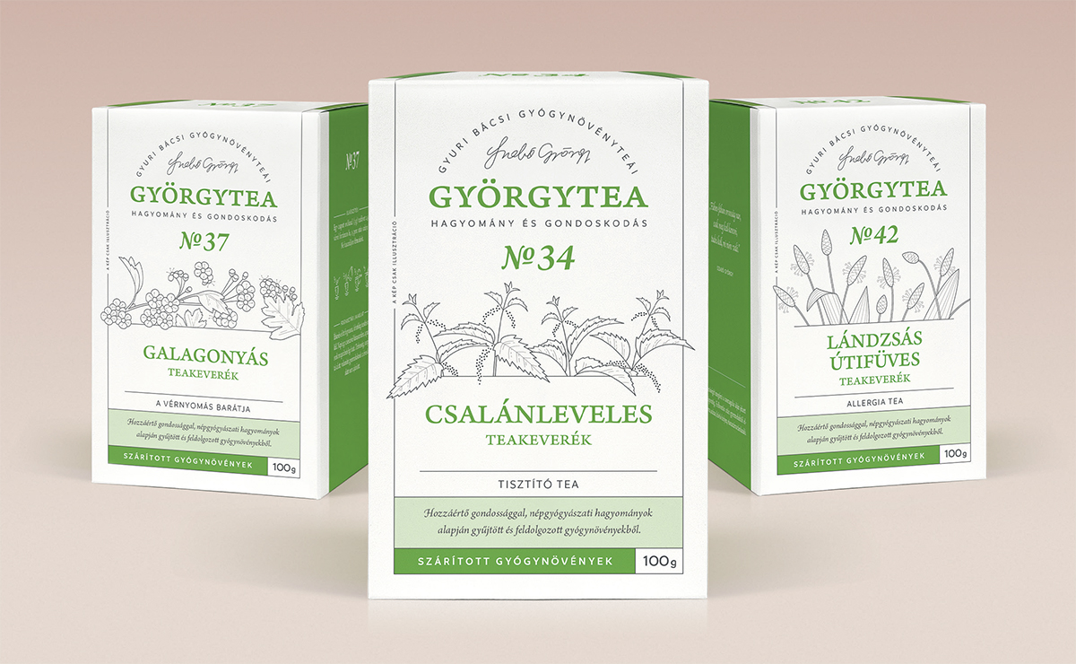 100 grammos teák