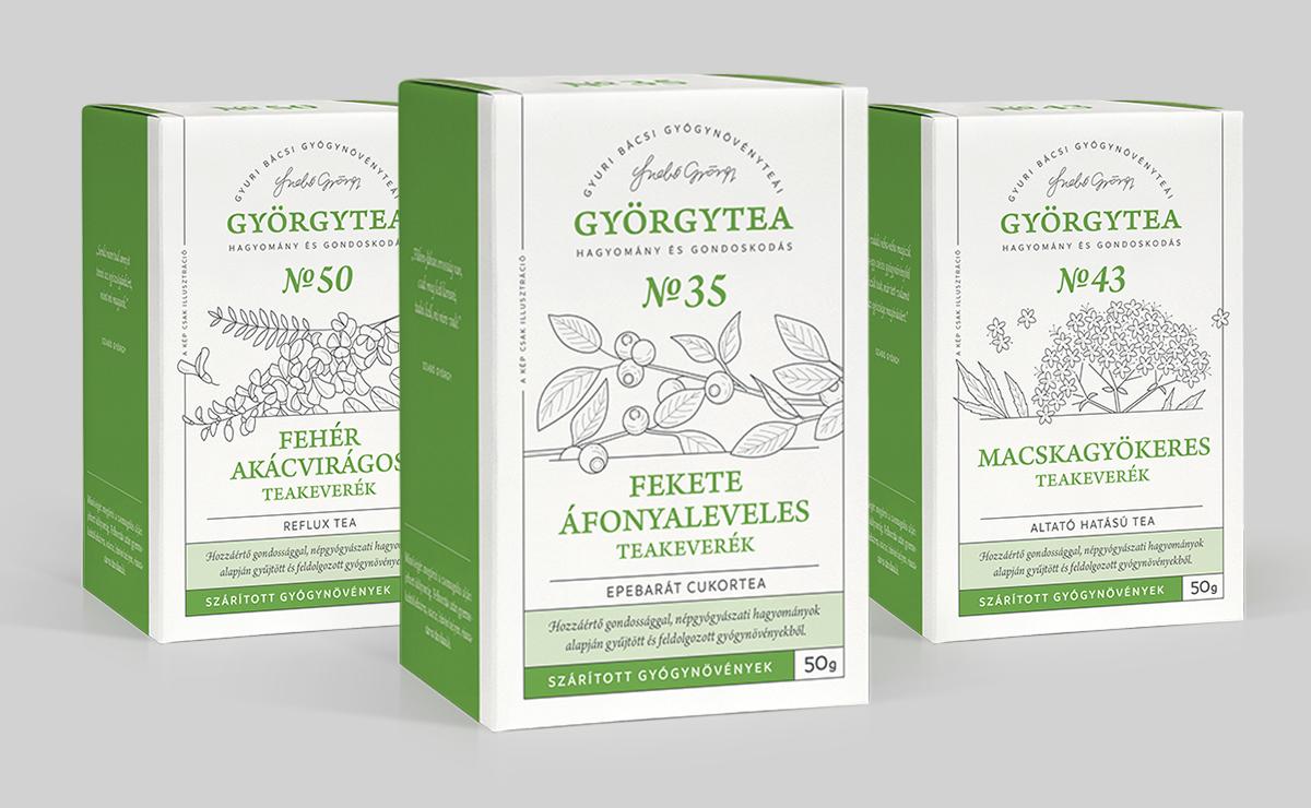 50 grammos teák