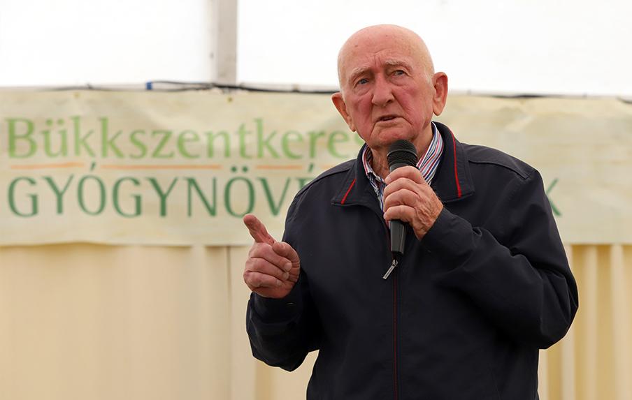 Gyuri bácsi a 2019-es Gyógynövénynapokon előadást tart.