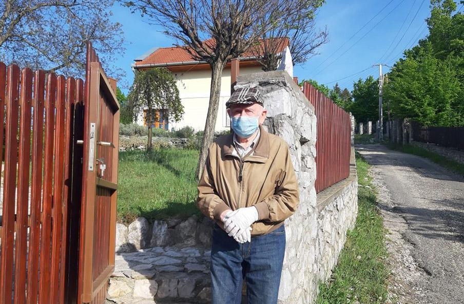 Szabó Gyuri bácsi 92 éves